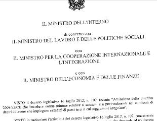 Regularización. Publicado el Decreto de aplicación