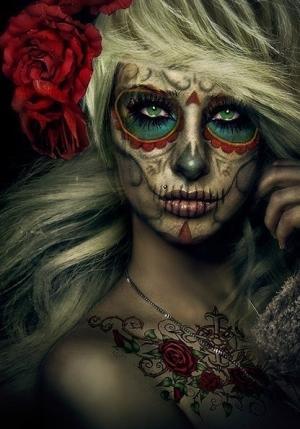 Maquillaje de Halloween, para hacerlo paso a paso