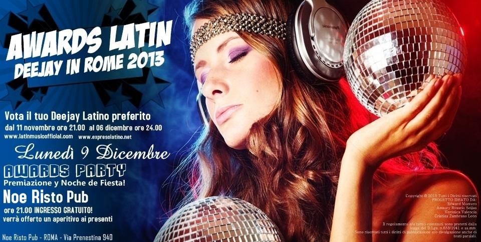 deejay latini a Roma
