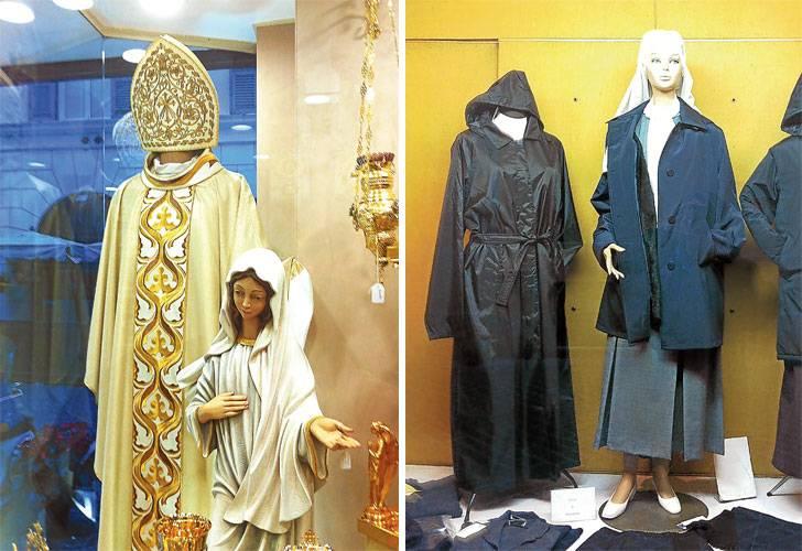 crisis de las tiendas lujosas de productos religiosos en el vaticano