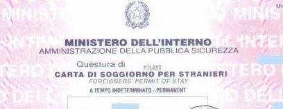 Cittadinanza italiana con la carta di soggiorno for Test per stranieri carta di soggiorno